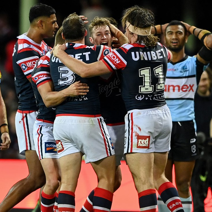 NRL match highlights: Roosters v Sharks