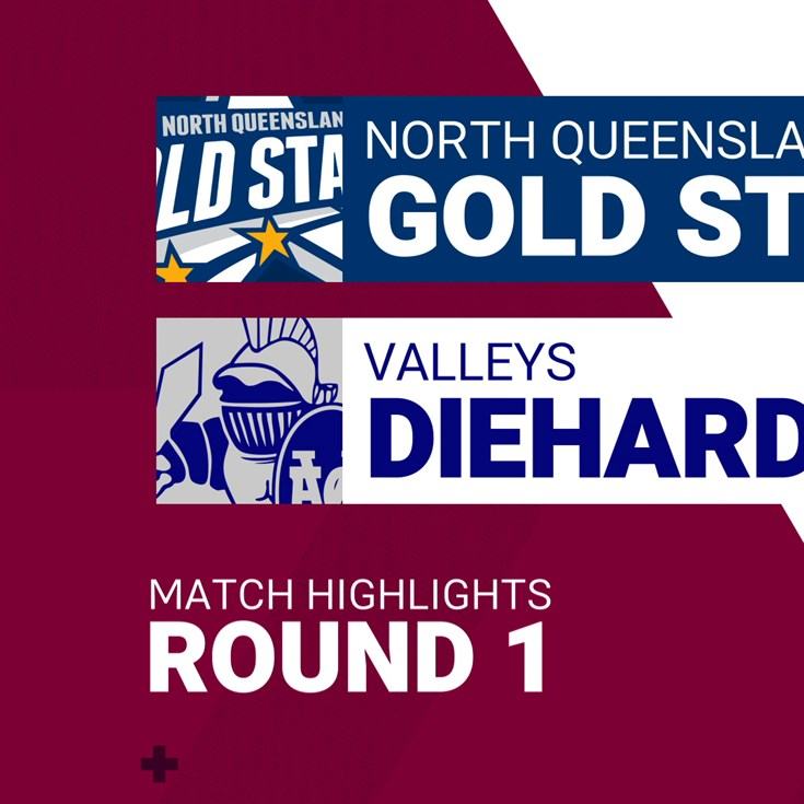 Round 1 highlights: Gold Stars v Diehards