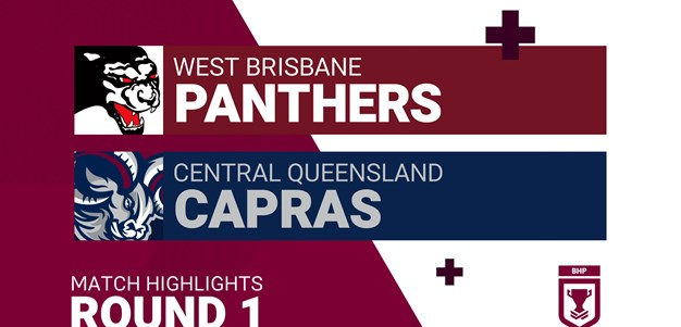 Round 1 highlights: Panthers v Capras
