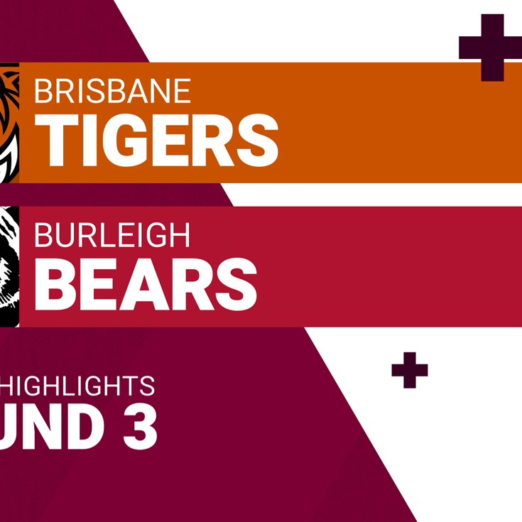 Round 3 highlights: Tigers v Bears