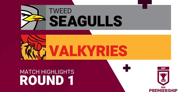 Round 1 highlights: Seagulls v Valkyries