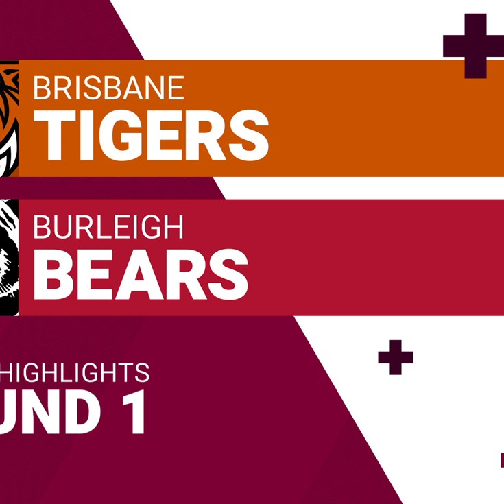 Round 1 highlights: Tigers v Bears