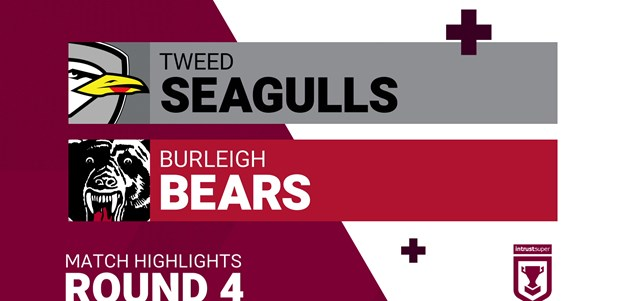Round 4 highlights: Tweed v Burleigh