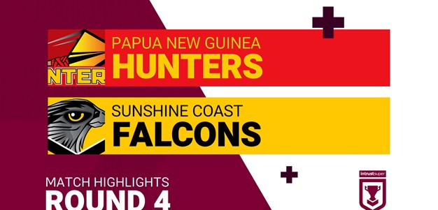 Round 4 highlights: Hunters v Falcons