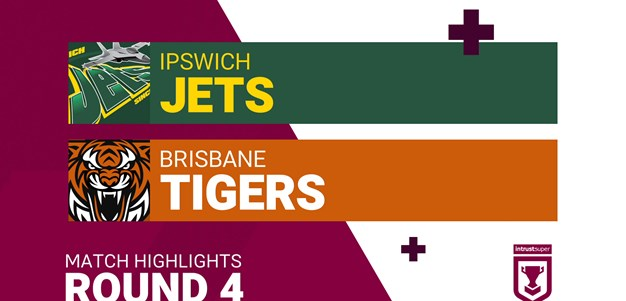 Round 4 highlights: Jets v Tigers