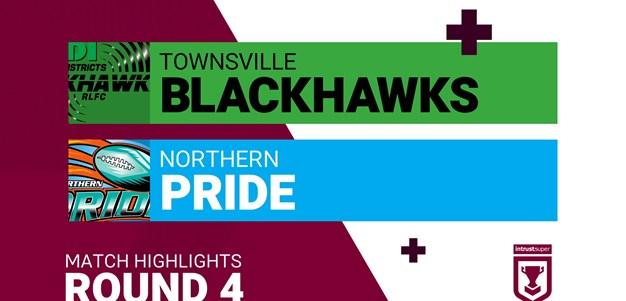 Round 4 highlights: Blackhawks v Pride