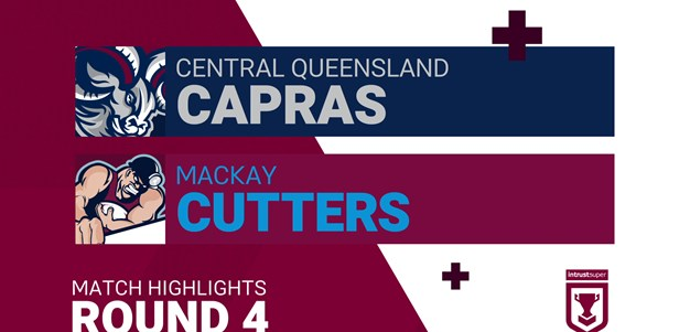 Round 4 highlights: Capras v Cutters