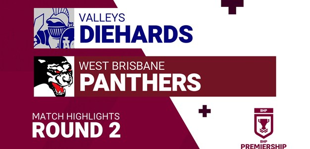 Round 2 highlights: Diehards v Panthers