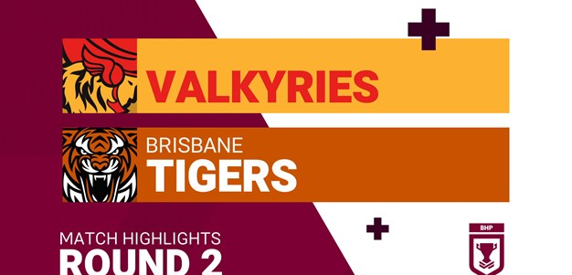 Round 2 highlights: Valkyries v Tigers