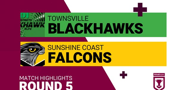 Round 5 highlights: Blackhawks v Falcons