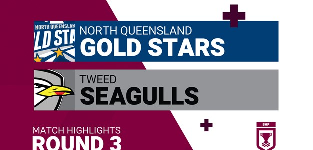Round 3 highlights: Gold Stars v Seagulls