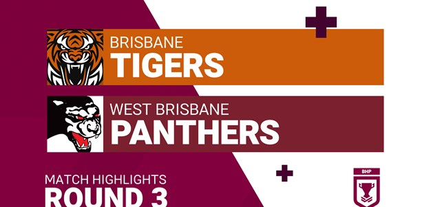 Round 3 highlights: Tigers v Panthers
