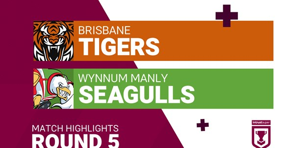 Round 5 highlights: Brisbane Tigers v Wynnum Manly