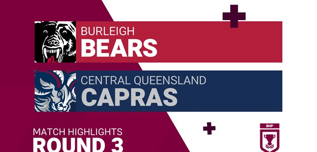 Round 3 highlights: Bears v Capras