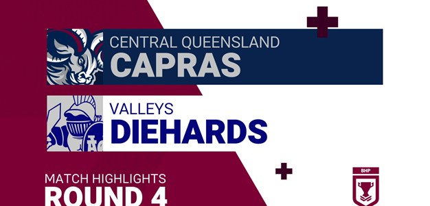 Round 4 highlights: Capras v Diehards