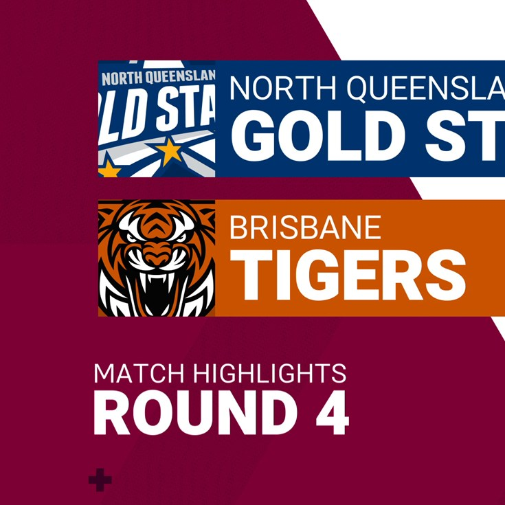 Round 4 highlights: Gold Stars v Tigers