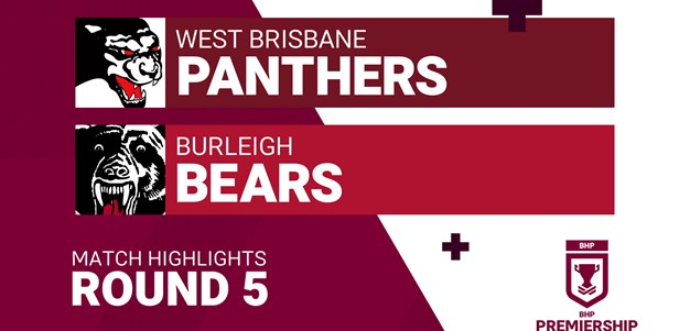 Round 5 highlights: Panthers v Bears