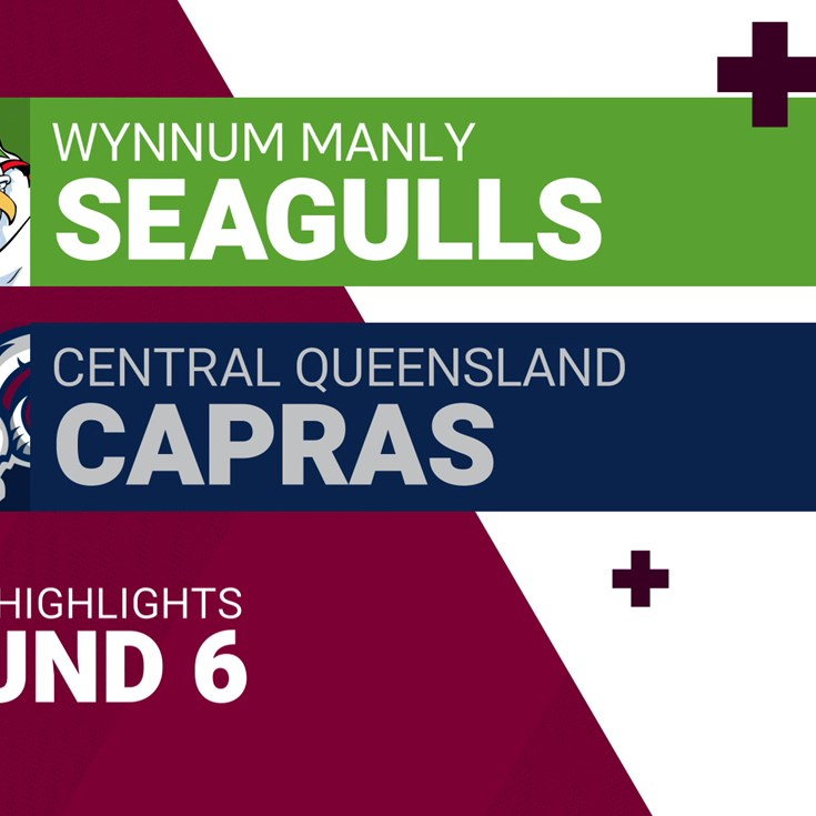 Round 6 highlights: Wynnum Manly v Capras
