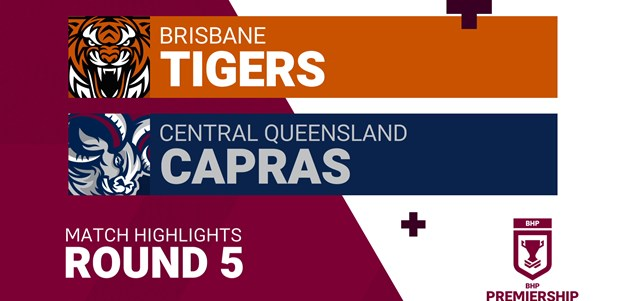 Round 5 highlights: Tigers v Capras