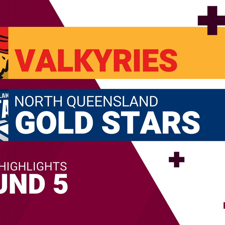 Round 5 highlights: Valkyries v Gold Stars