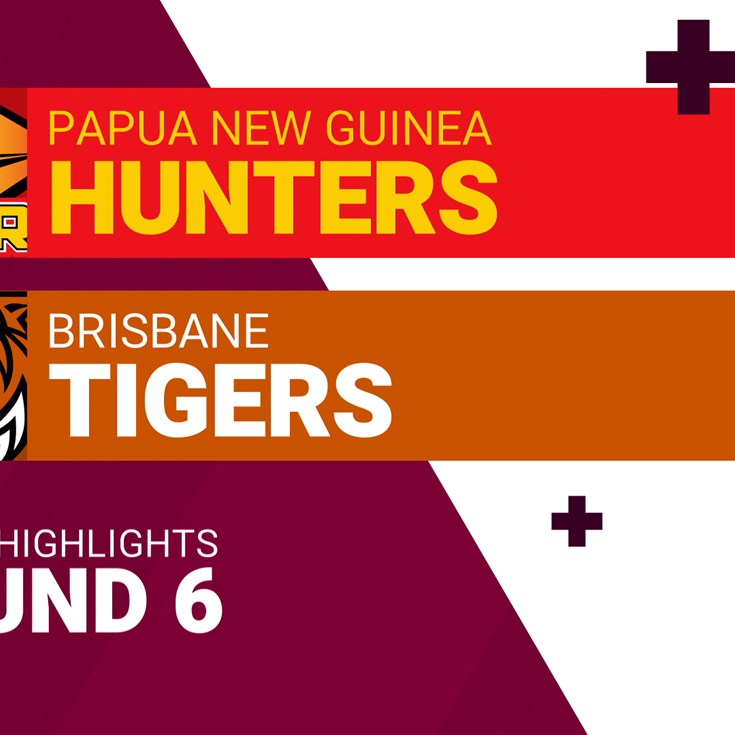 Round 6 highlights: Hunters v Tigers