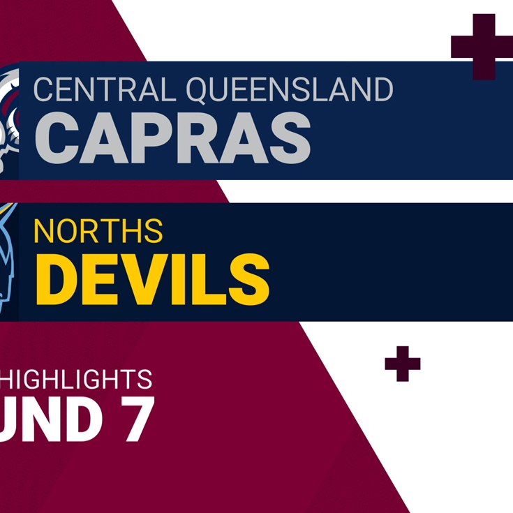 Round 7 highlights: Capras v Devils