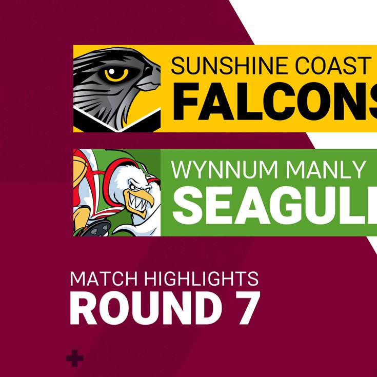 Round 7 highlights: Sunshine Coast v Wynnum Manly