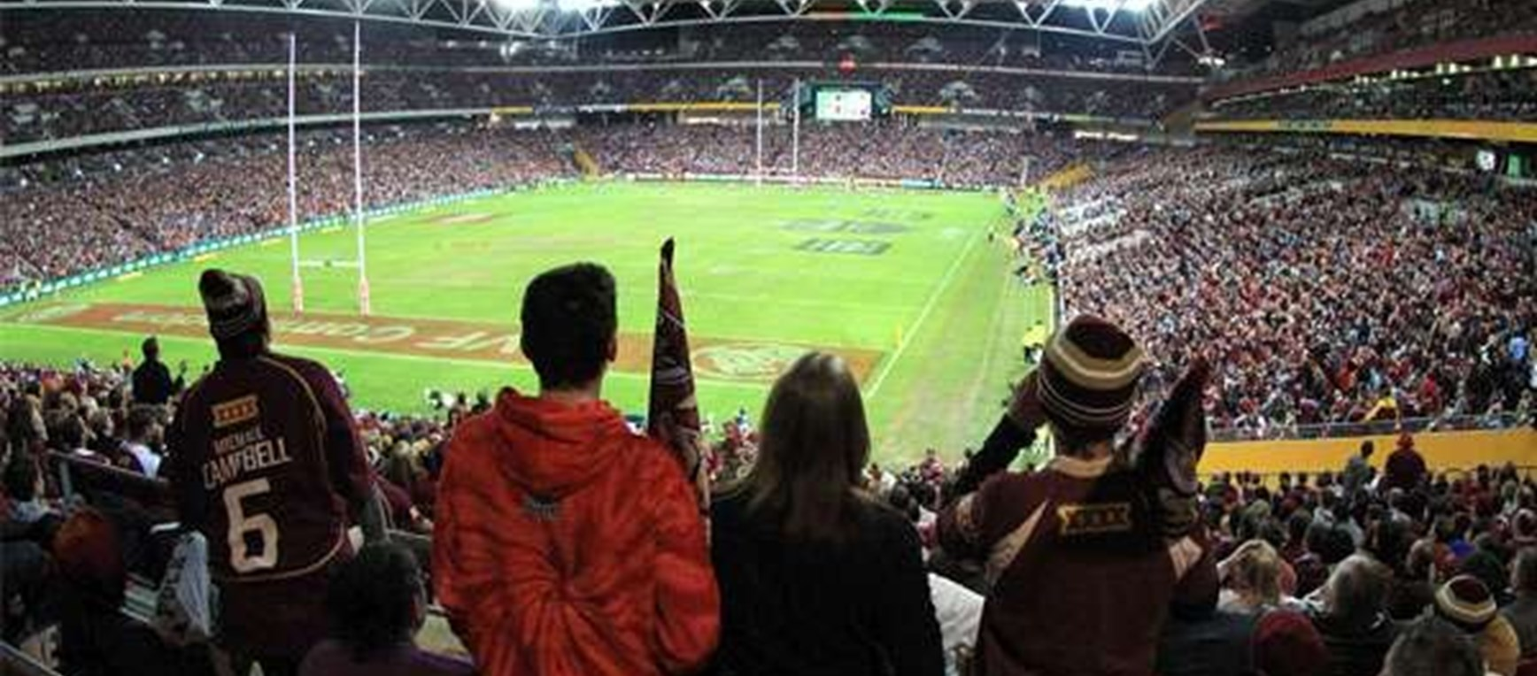 State of Origin 2 Crowd Photos