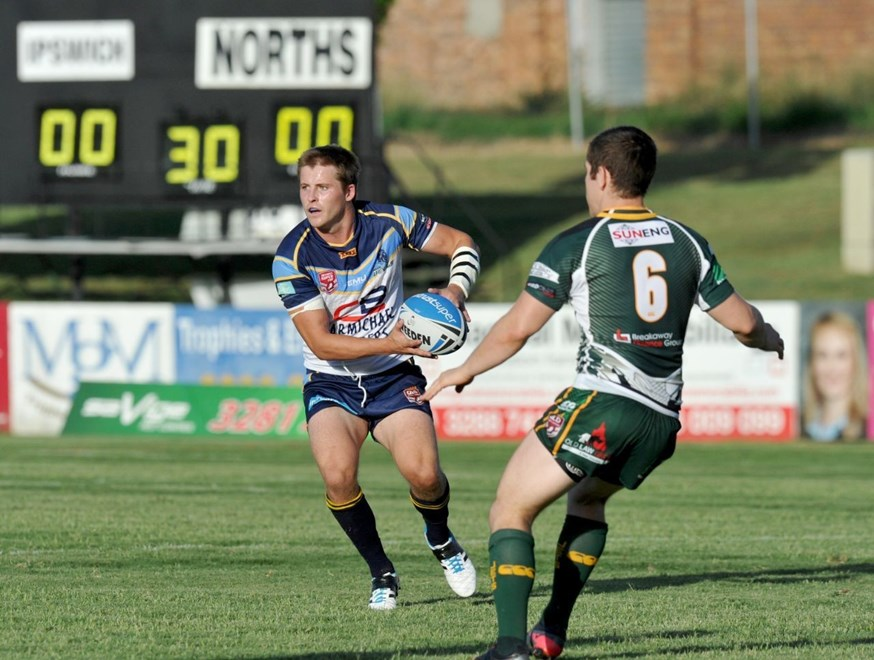 Todd Murphy - QRL Intrust Super Cup - Rd 1 Ipswich Jets V Norths Devils. Saturday March 1