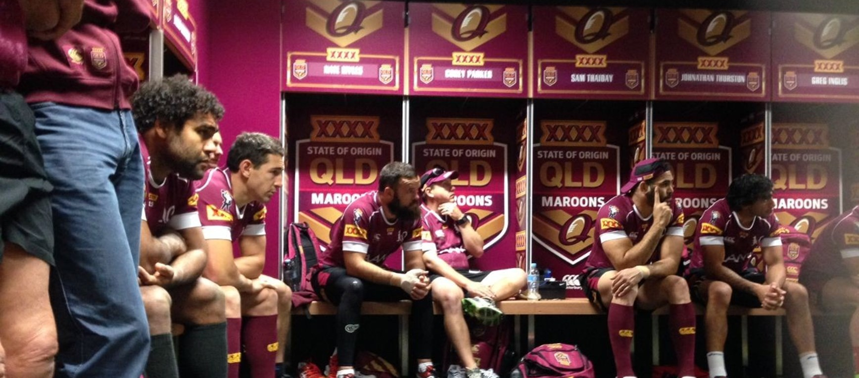 Gallery: Inside Maroons training
