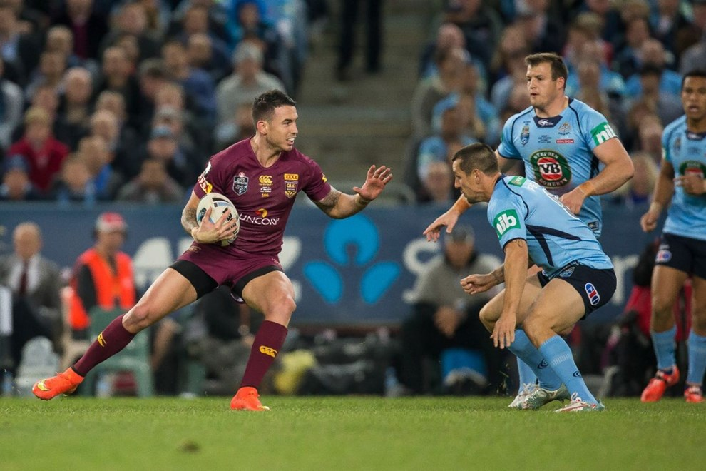 Darius Boyd - State of Origin Game I. NSW v QLD at ANZ Stadium, Sydney - Wednesday May 27, 2015.   PHOTO: Murray Wilkinson - SMP IMAGES.COM