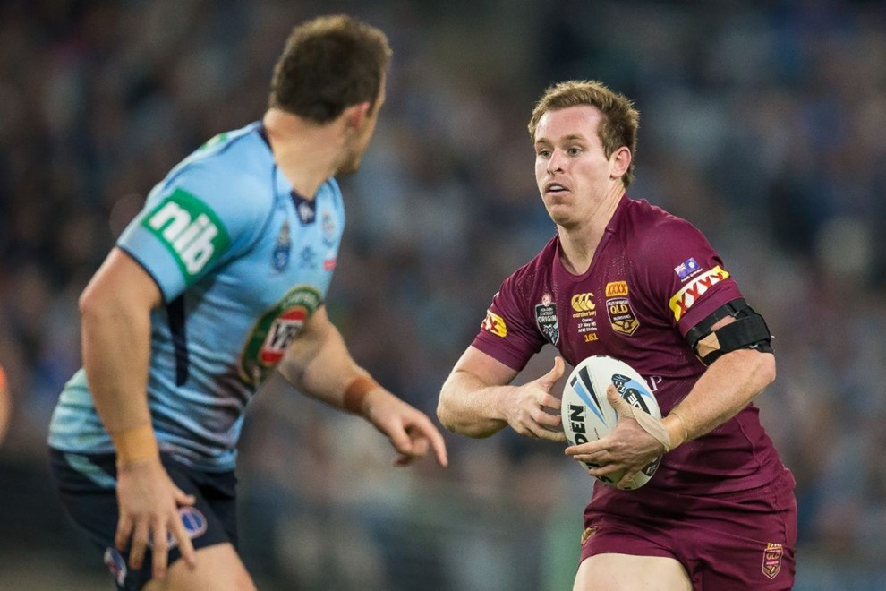 Michael Morgan - State of Origin Game I. NSW v QLD at ANZ Stadium, Sydney - Wednesday May 27, 2015.   PHOTO: Murray Wilkinson - SMP IMAGES.COM