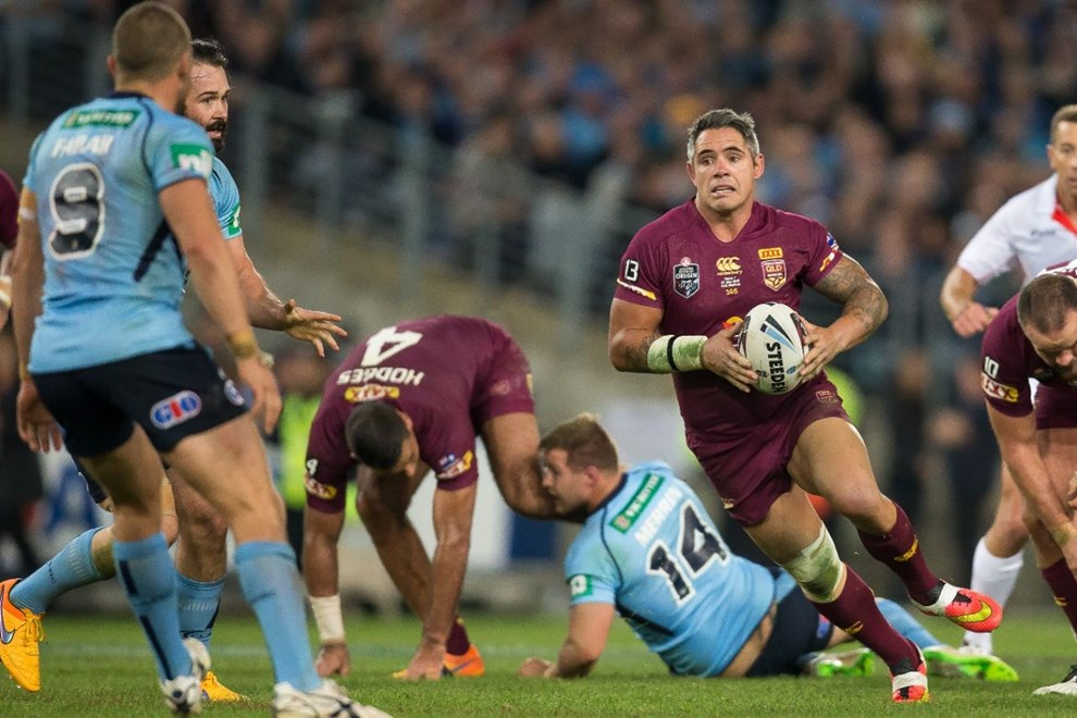 Corey Parker - State of Origin Game I. NSW v QLD at ANZ Stadium, Sydney - Wednesday May 27, 2015.   PHOTO: Murray Wilkinson - SMP IMAGES.COM