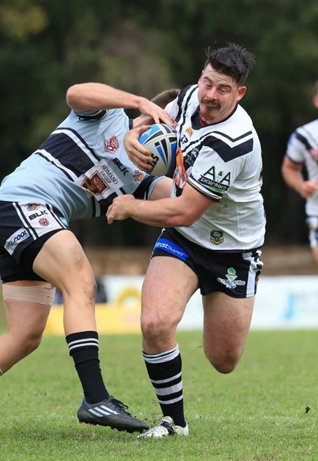 Andrew Edwards - Intrust Super Cup Round 16 - Souths Logan Magpies V Tweed Heads Seagulls at Davies Park, West End. 1.40pm Sunday June 28, 2015.  PHOTO: SMP IMAGES.COM