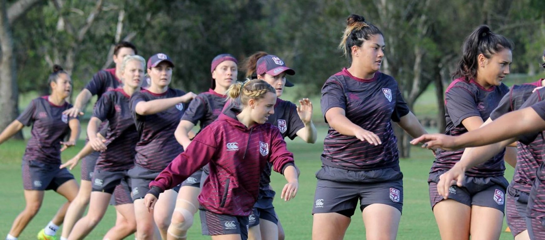 QLD women prepare