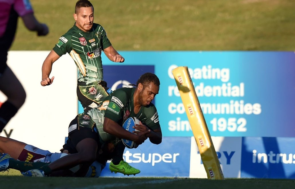 Nemani Valekapa - Intrust Super Cup Round 15 - Ipswich Jets V Central QLD Capras at North Ipswich Reserve
