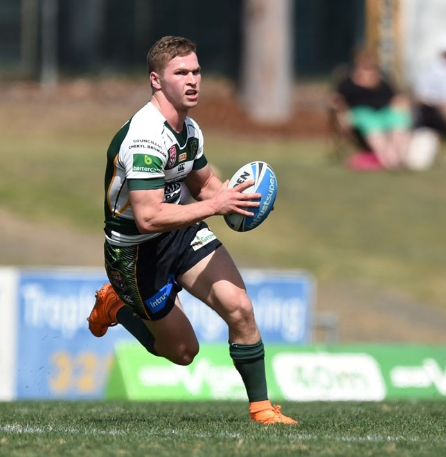 Matt Parcell - Intrust Super Cup Minor-semi Final - Ipswich Jets V Easts Tigers at North Ipswich Reserve, Ipswich. 1.35pm Sunday September 13, 2015.   PHOTO: Scott Davis - SMP IMAGES.COM
