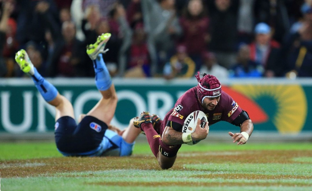JOHNATHAN THURSTON  (QUEENSLAND MAROONS) - PHOTO: SMP IMAGES/QRL MEDIA - 8th July 2015 - Action from game 3 of the 2015 National Rugby League (NRL)  State of Origin clash between the Queensland Maroons v NSW Blues, played at Suncorp Stadium, Brisbane, Australia.
