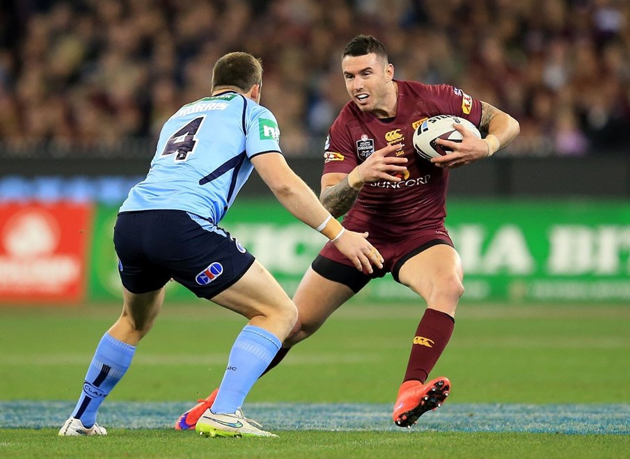 Darius Boyd - State of Origin Game II - New South Wales V Queensland at MCG, Melbourne. 8.15pm Wednesday June 17, 2015.  PHOTO: Scott Powick - SMP IMAGES.COM