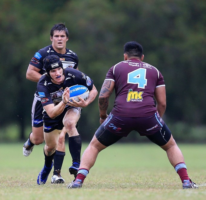 David SHERIDAN (Tweed Heads Seagulls) - Photo: SMP IMAGES.COM. 1st May 2016 Action from the Round 9 Queensland Rugby League (QRL) Intrust Super Cup clash played between the Tweed Heads Seagulls v Central Capras, played at Piggabeen Stadium, West Tweed Heads NSW.