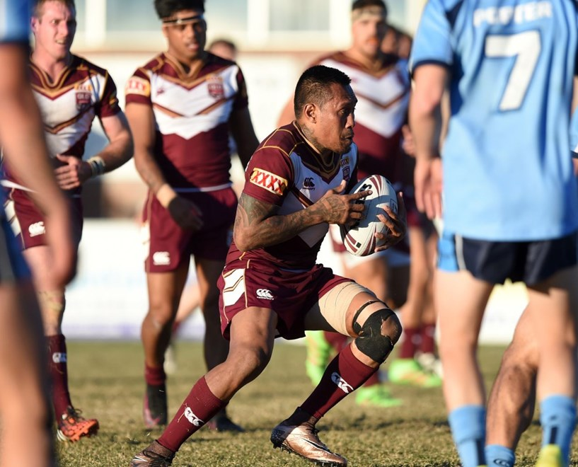 Stevie Franciscus - QLD Rangers V NSW Ron Massey Cup at Pizzey Park, Burleigh. 4.00pm Sunday July 24, 2016.  PHOTO: Scott Davis
