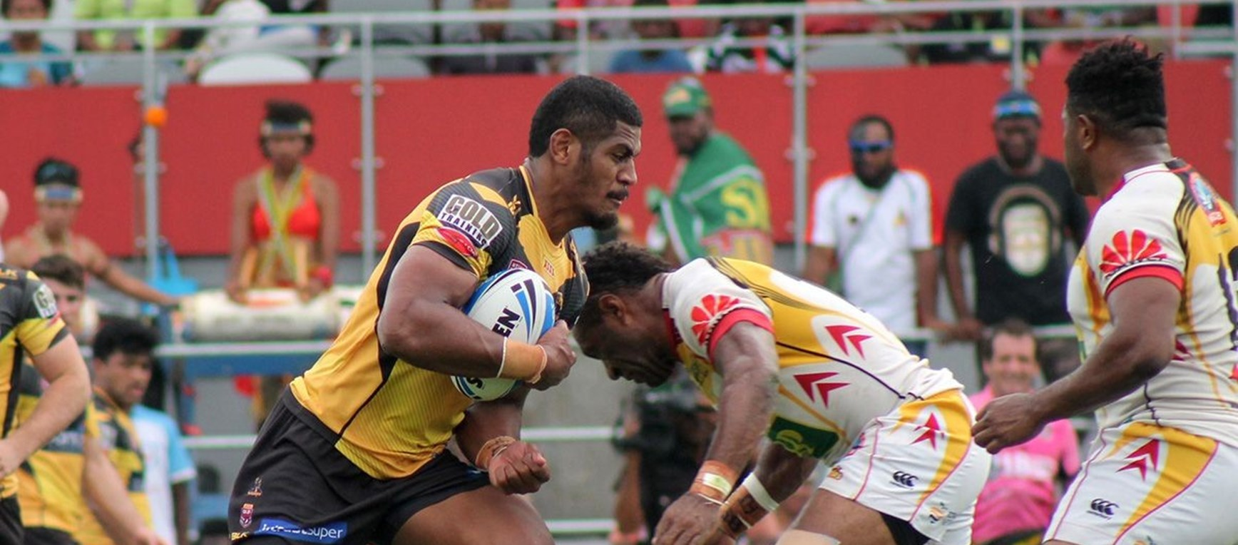 Gallery: PNG v Falcons