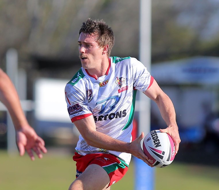 Daniel Ogden - Intrust Super Cup Round 22 - Norths Devils V Wynnum Manly Seagulls at Bishop Park, Nundah. 3.00pm Sunday August 7, 2016. PHOTO: Wendy van den Akker - SMP Images.com