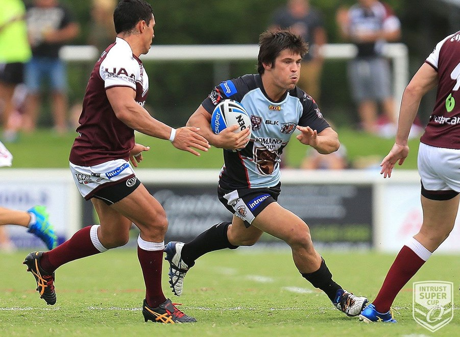 Sam Irwin - Intrust Super Cup Round 2 - Burleigh Bears V Tweed Heads Seagulls at Pizzey Park