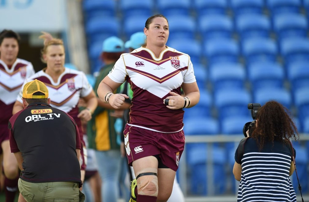 Steph Hancock - Women's interstate match: Queensland V New South Wales at CBUS Stadium, Robina. 3.10pm Saturday July 23, 2016.