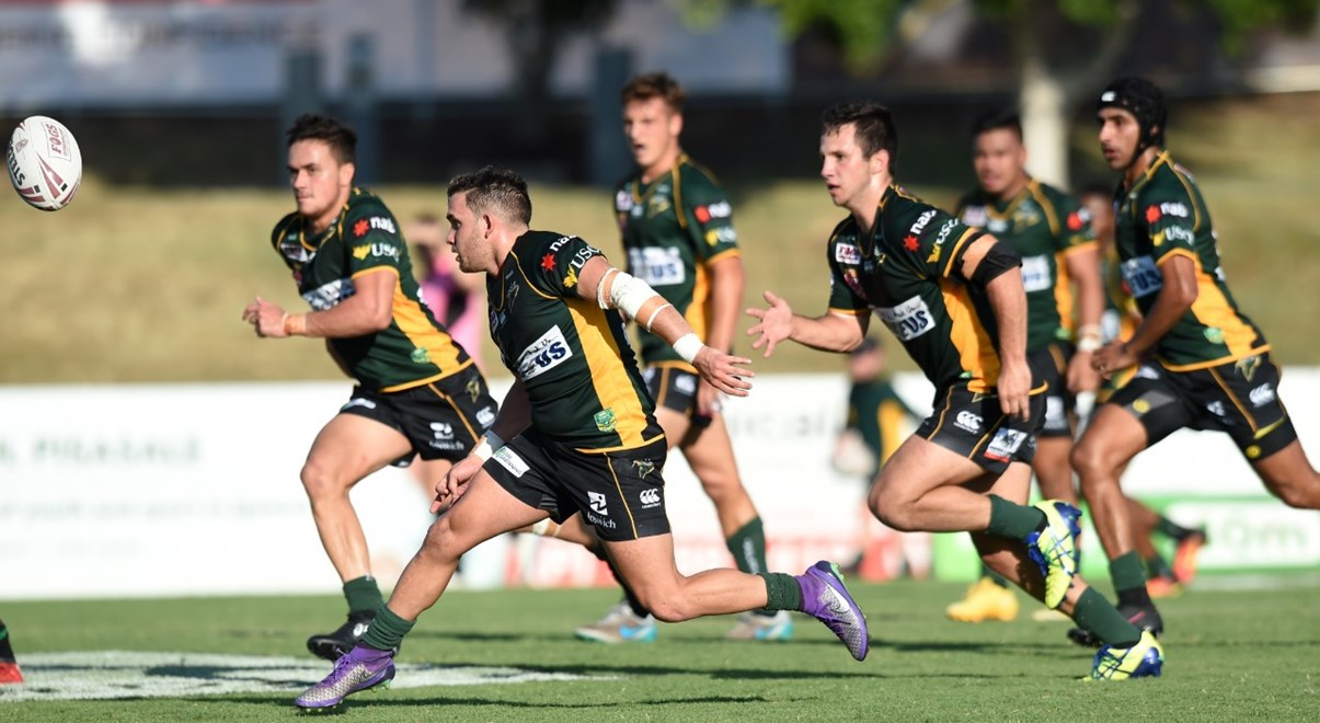 IPSWICH JETS - IPSWICH JETS V TOWNSVILLE BLACKHAWKS - FOGS U20'S STATE-WIDE CUP ROUND 02 -  PHOTO: SCOTT DAVIS - SMP IMAGES/QRL MEDIA - 12th March 2017. Action from round 02 of the Queensland Rugby League FOGS U20's State-Wide Cup