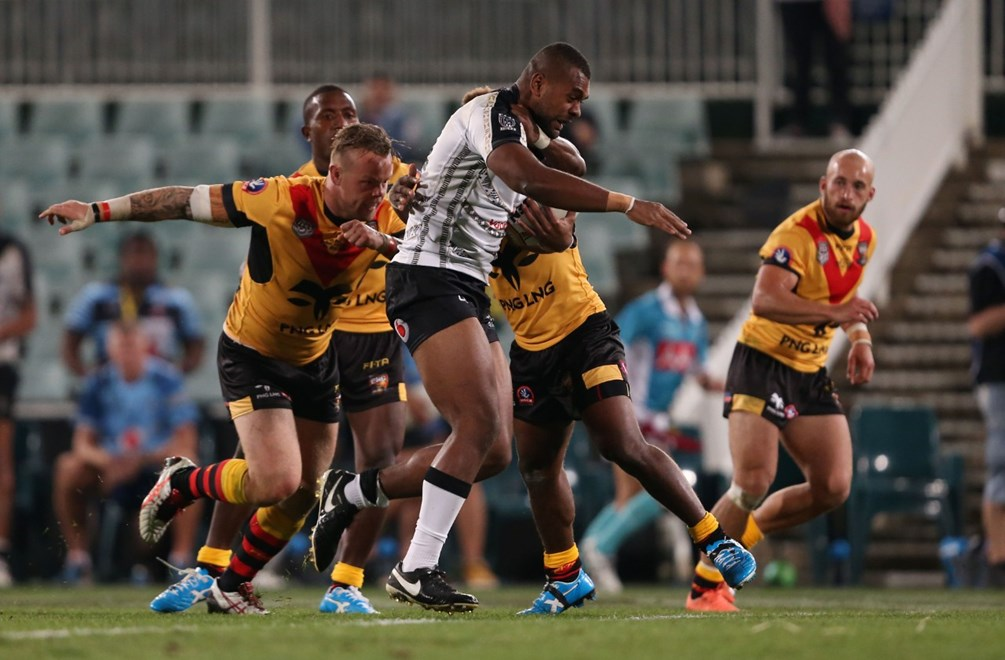 Competition - International Rugby League - Pacific Test Day.  Teams - Fiji Bati v PNG.  Round - May Representative Round.  Date - Saturday the 7th of May 2016.  Venue - Pirtek Stadium