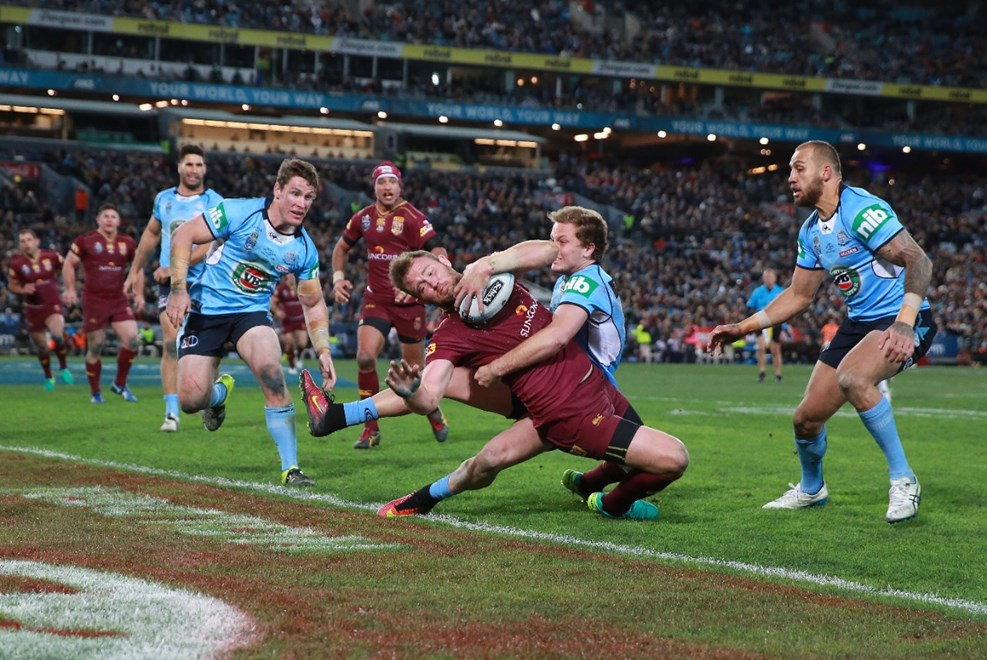 Competition - State of Origin Round - 3  Teams – NSW V QLD Date –  13th of July 2016 Venue – ANZ Stadium Photographer – Cox Description –