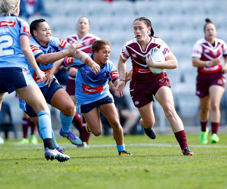 Womens Intersate Challenge at Win Stadium,Wollongong . Picture : Gregg Porteous