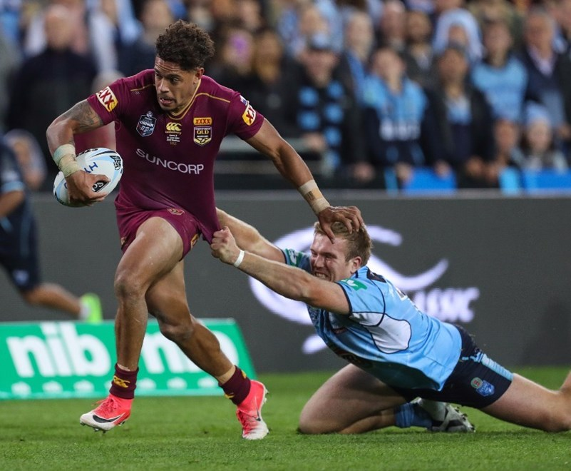 Mackay's favourite son Dane Gagai scored two tries on the wing.